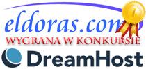 Klient: eldoras.com, zwycięstwo w konkursie DreamHost